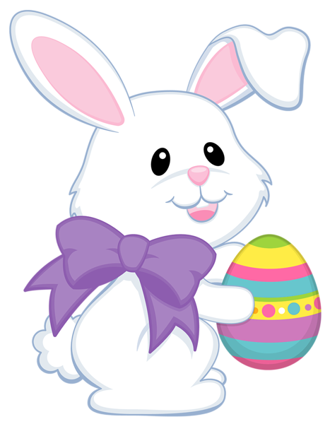 picture transparent download Easter cute with purple. Bunny clipart transparent background.