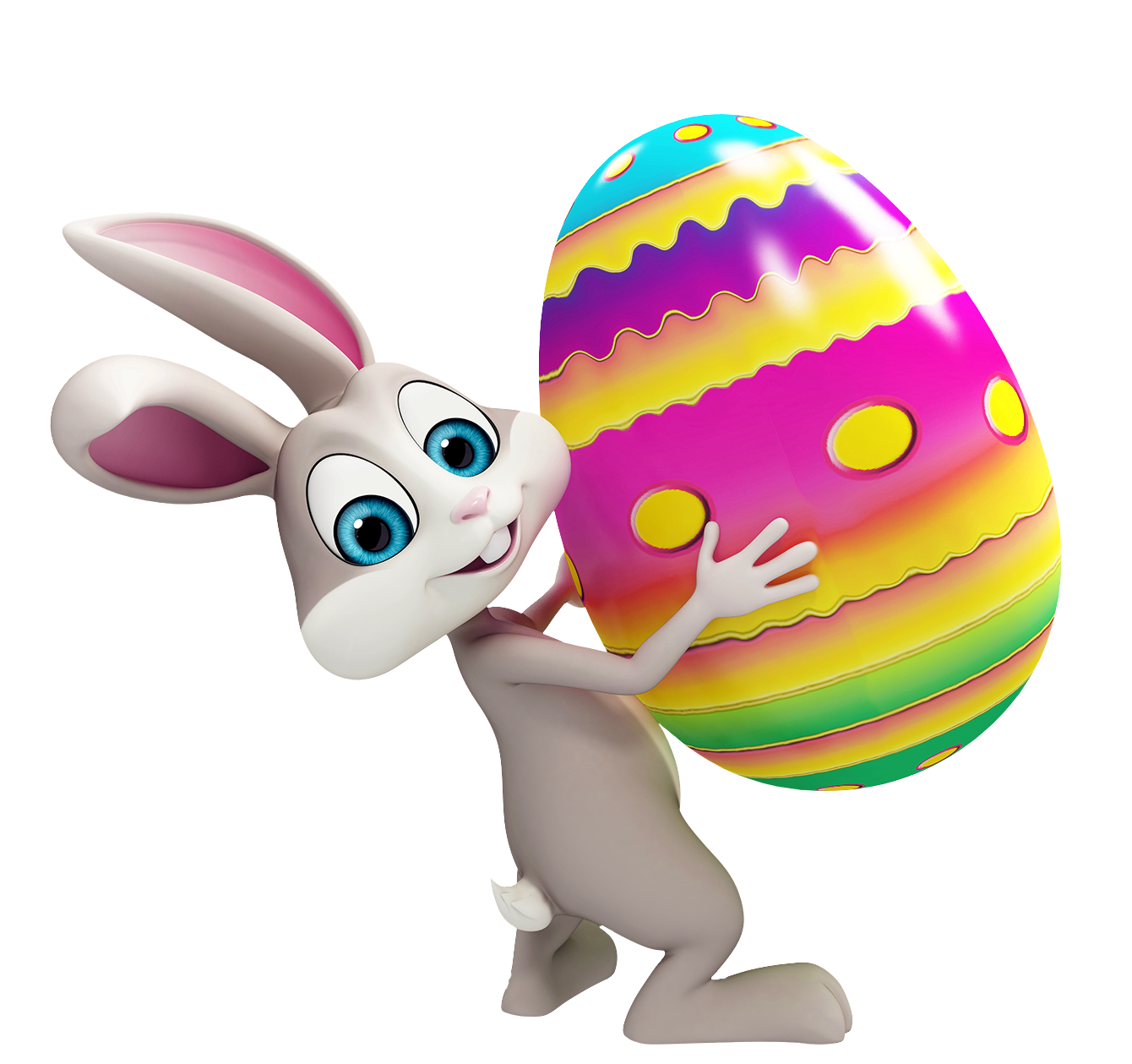picture black and white Bunny with colorful egg. Brownie clipart easter chocolate