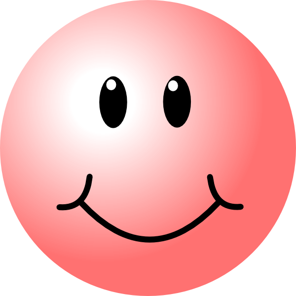 clip art black and white Faces pink smiley clip. Yes clipart happy face