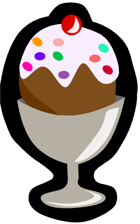 graphic download Ice Cream Sundae Bowl Clipart