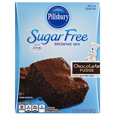 picture download Sugar free fudge mix. Brownie clipart simple chocolate.