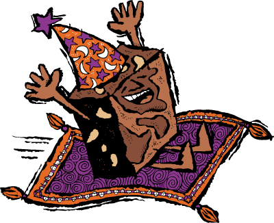 jpg stock Brownies clipart animated. Brownie magic free on
