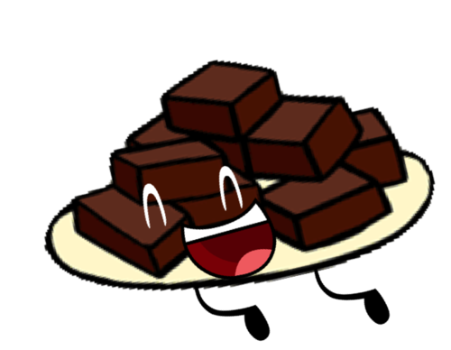 vector royalty free stock Brownies clipart. Image pose png object.