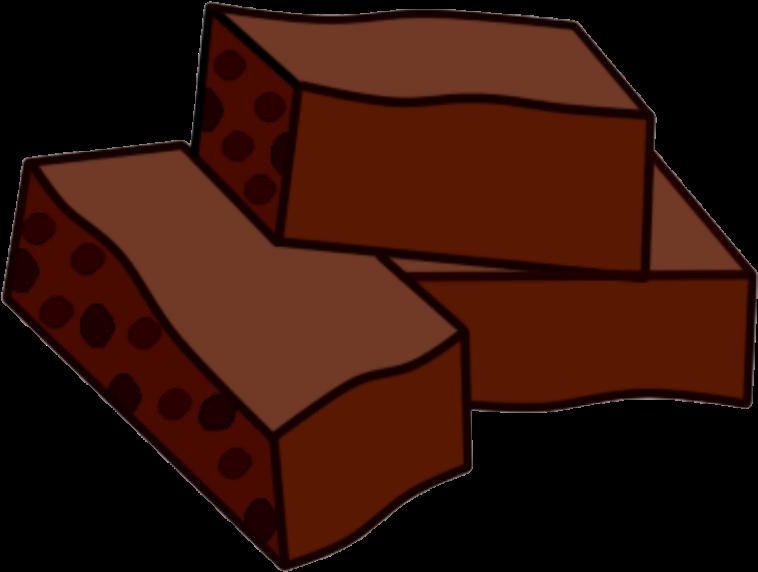 clip art free Brownies clipart american chocolate. Brownie png .