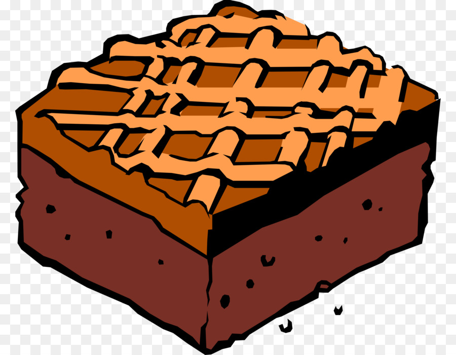 vector free stock Brownies clipart cartoon. Chocolate smore bakery .
