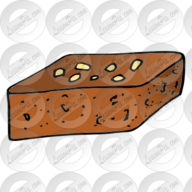 image free stock Brownie picture for classroom. Brownies clipart cartoon.