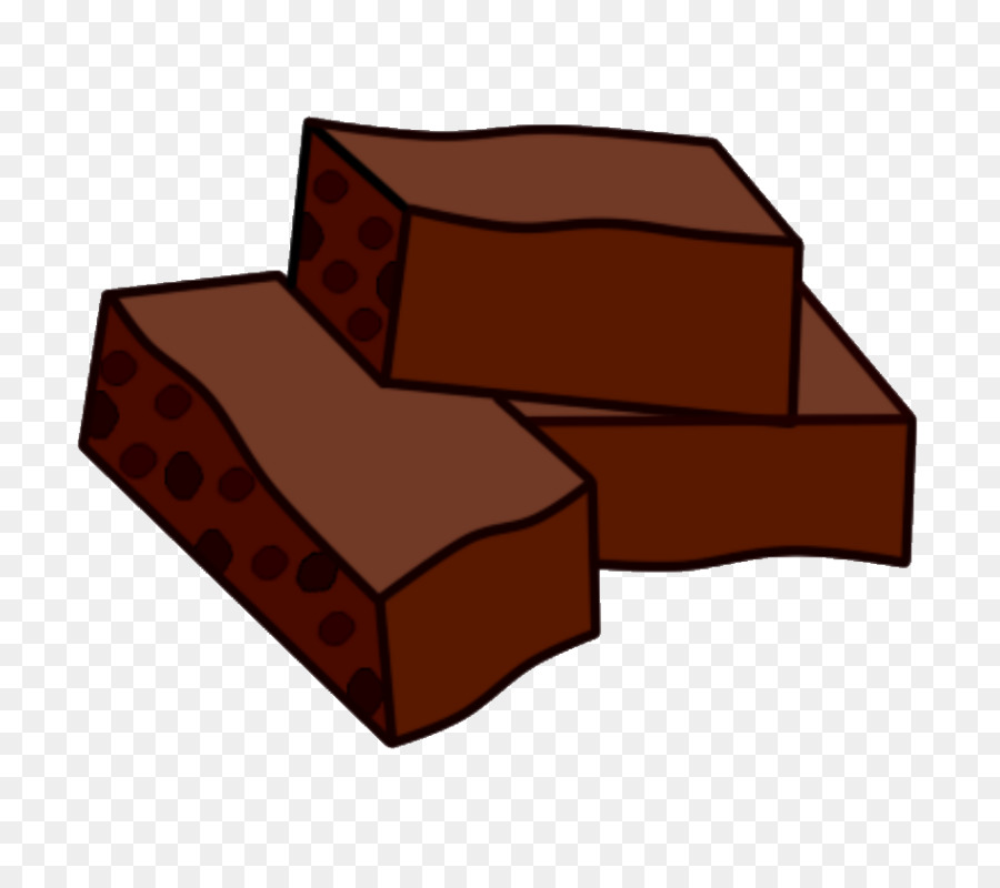 jpg transparent library Chocolate cartoon furniture box. Brownies clipart clip art.