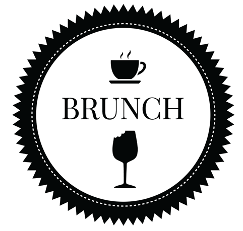 clip art royalty free library  collection of black. Brunch clipart.