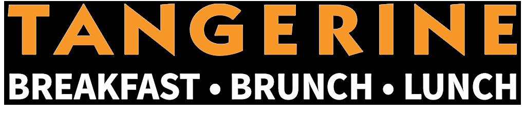 banner black and white stock Tangerine