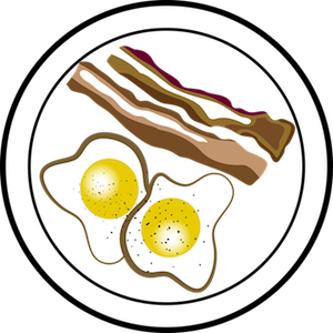 image royalty free stock Glooscap curling club tropicurl. Brunch clipart breakfast party