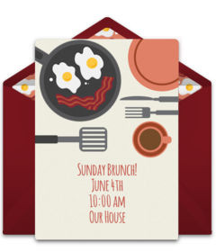 vector transparent download Free and lunch online. Brunch clipart breakfast party