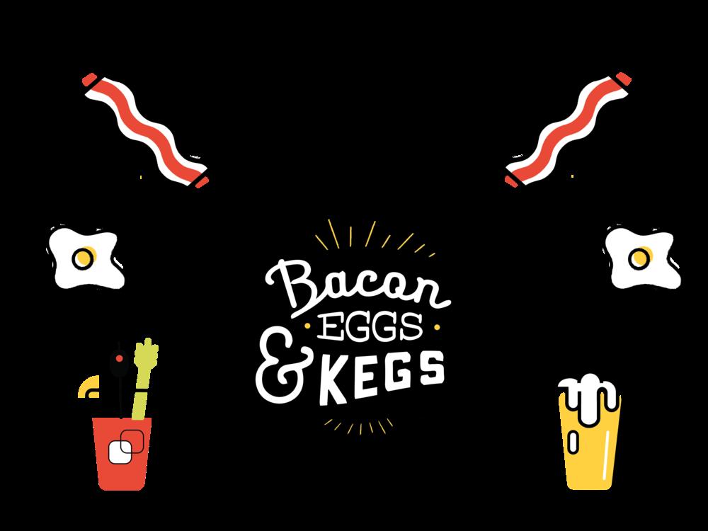 clip free BACON EGGS