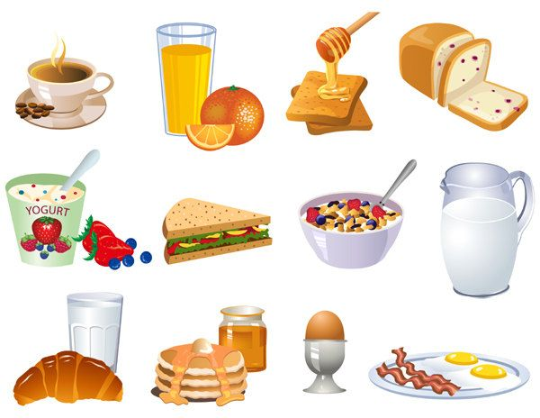 svg transparent stock Healthy breakfast clipart. Google search breakfasts pinterest.