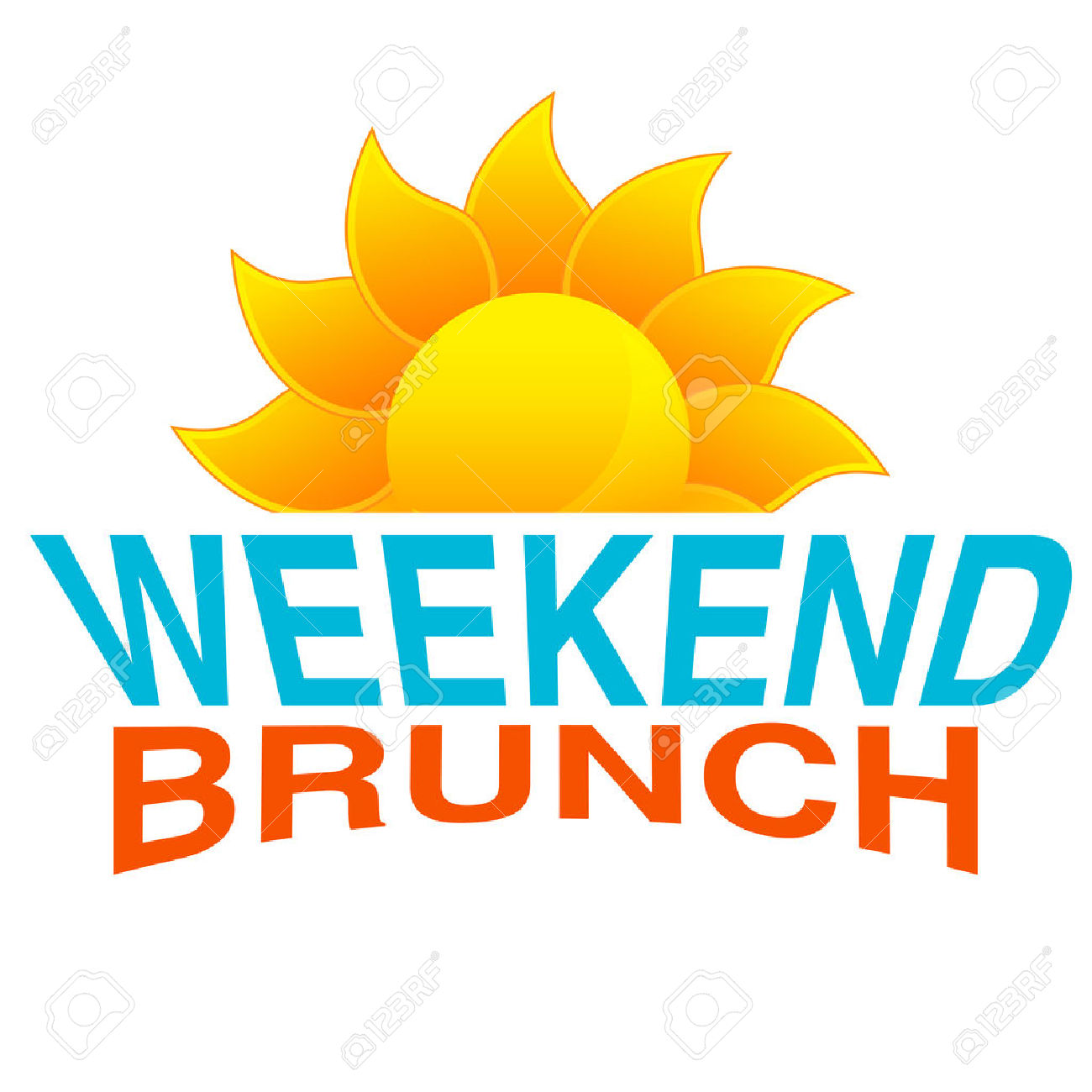 svg stock Brunch clipart saturday. Free download best on