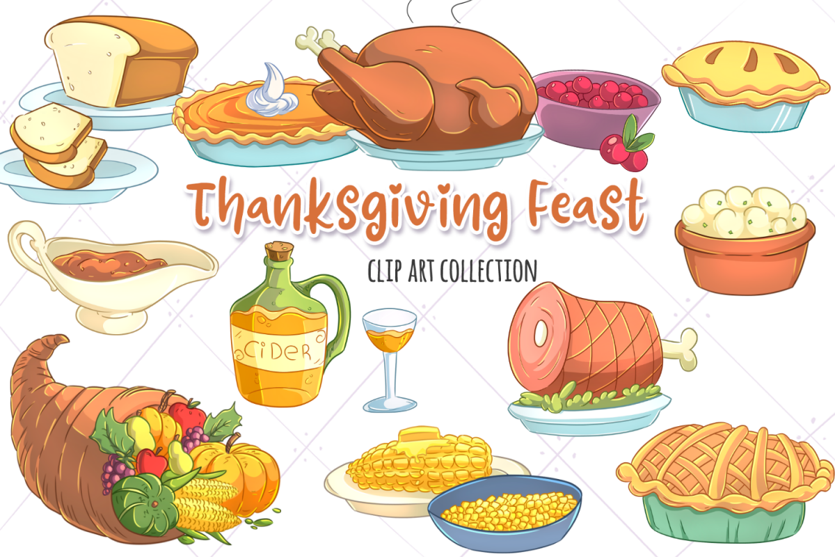 png library download Feast clip art collection. Brunch clipart thanksgiving