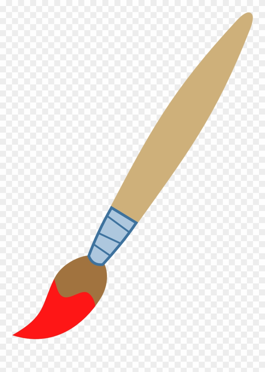 jpg royalty free library Clip art paint brush. Paintbrush clipart