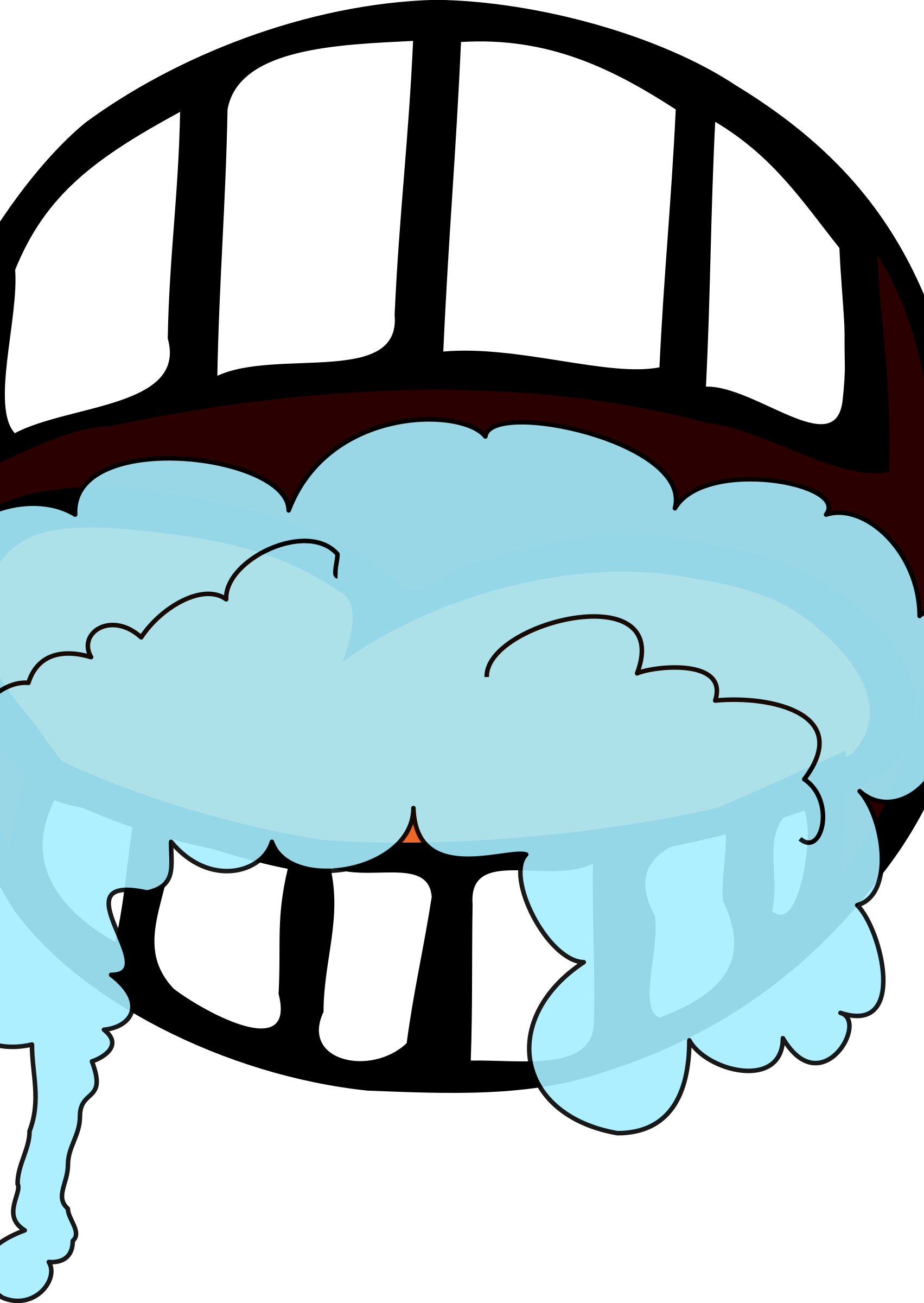 clip free library Foaming big image png. Brush clipart mouth
