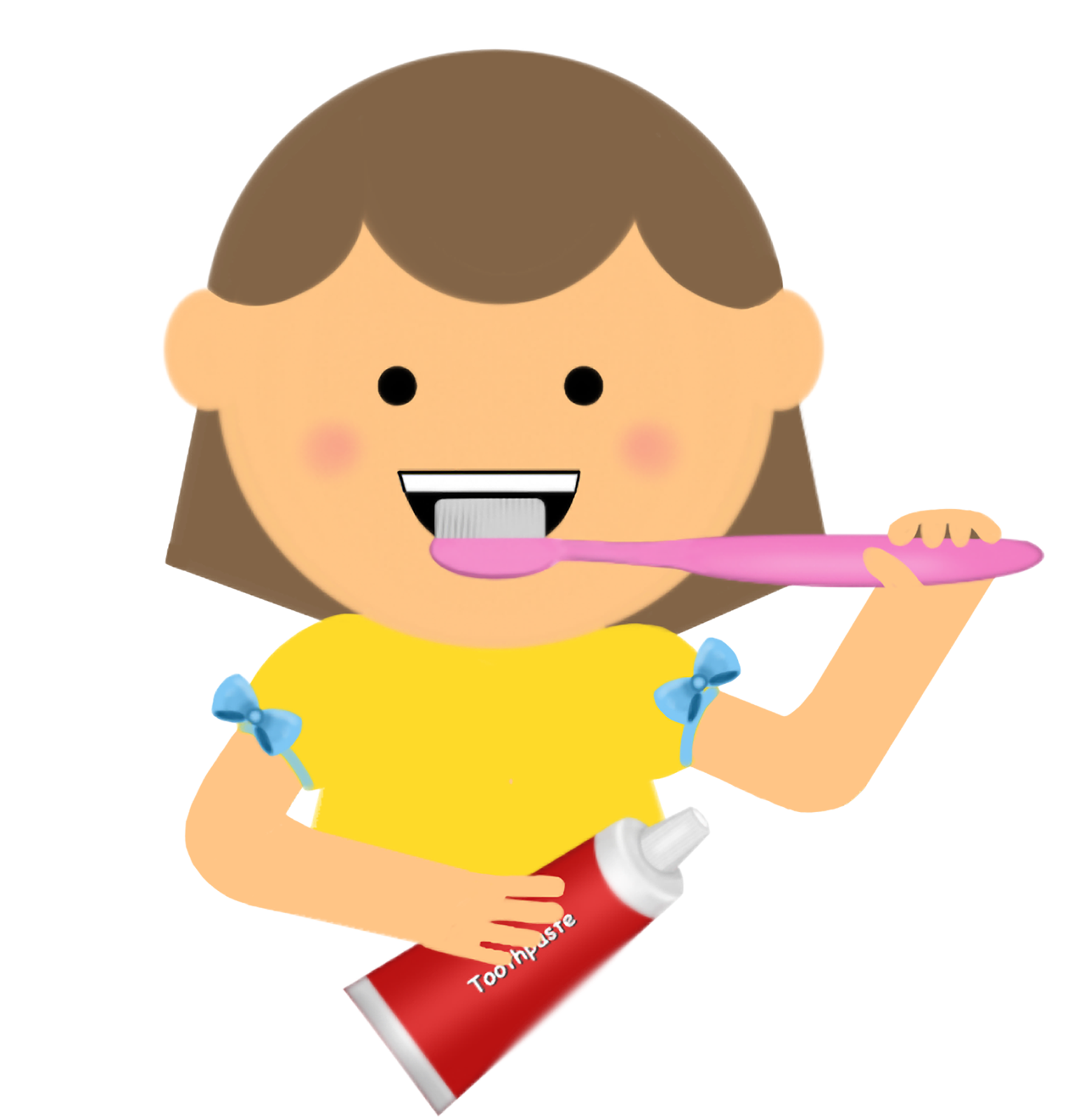 clip art Brushing clipart brushteeth. Brush teeth logo more.
