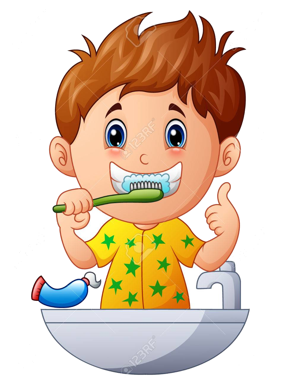 image transparent Brushing clipart. Brush teeth collection of.