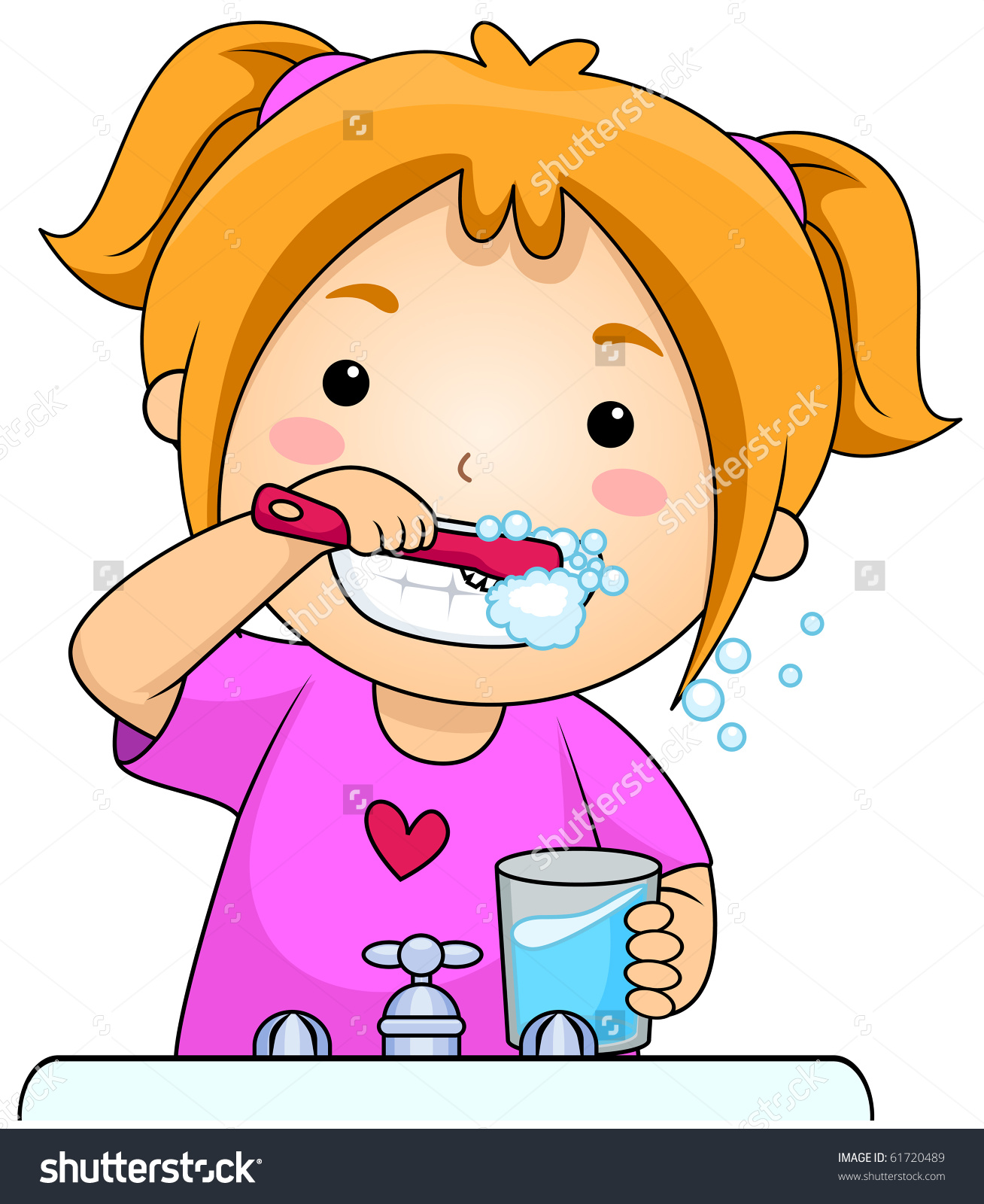 image download  brush teeth clip. Brushing clipart brushteeth.