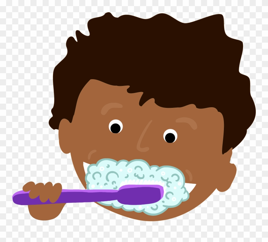 vector library library Brushing clipart brushteeth. Free brush teeth clip.