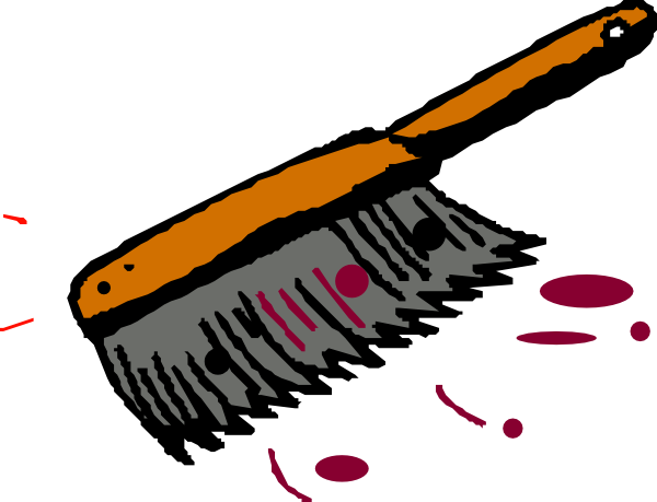 stock Brushing clipart dust brush. Clip art at clker.