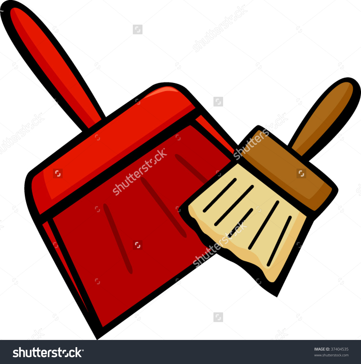clip art stock Brushing clipart dust brush. Free download on webstockreview.
