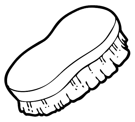 banner royalty free library Free black cliparts download. Brushing clipart shoe brush