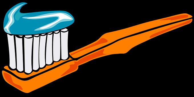 clip stock Brushing clipart simple. Brush teeth jokingart com