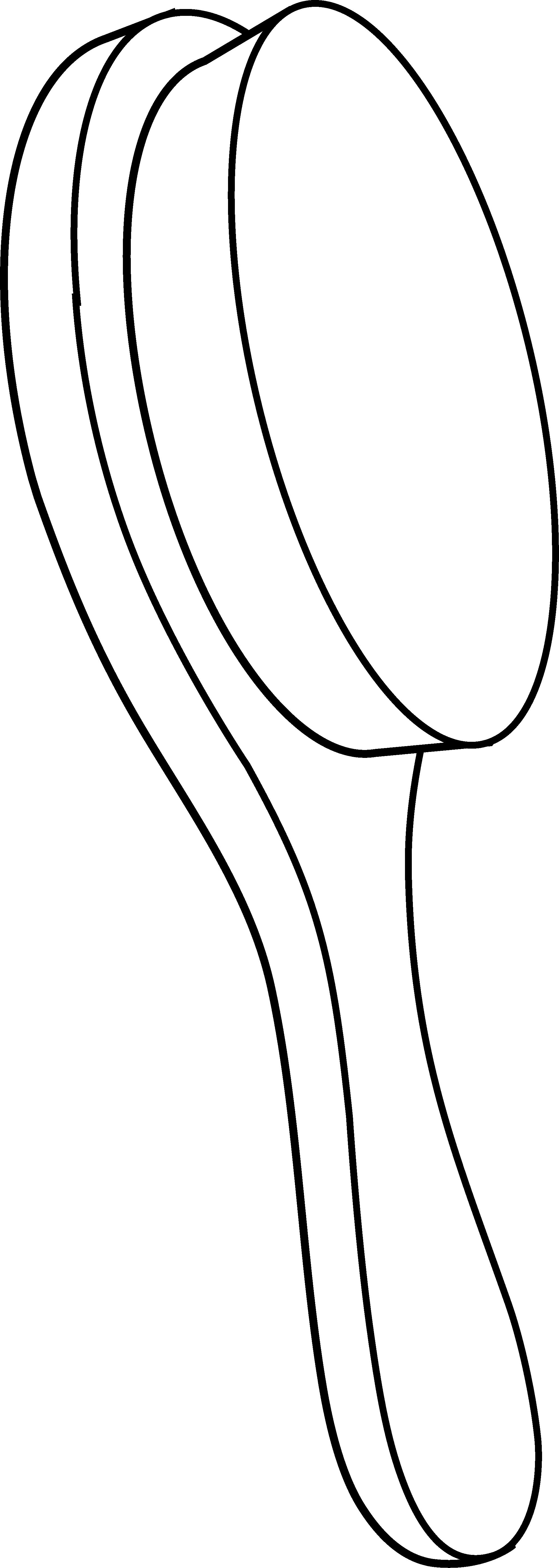 graphic free stock Hairbrush clipart round brush. Hair black and white
