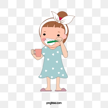 jpg black and white Brushing clipart vector. Brush your teeth png