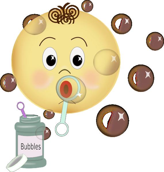 png freeuse stock Blowing bubbles clip art. Bubble clipart child.