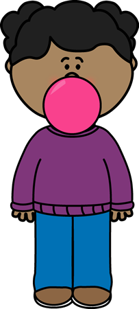 clip freeuse Bubble clipart child. Bubblegum clip art images.