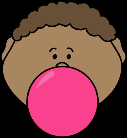png royalty free download Bubblegum clip art images. Bubble clipart child.
