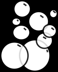picture black and white download Bubbles panda free images. Bubble clipart clip art