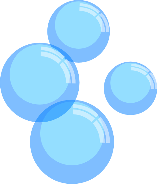 vector royalty free library . Bubbles clipart