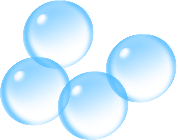 png black and white stock Blue . Bubbles clipart
