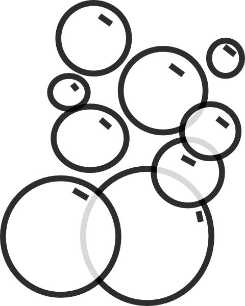 graphic free Bubbles clipart dish. Bubble coloring pages google