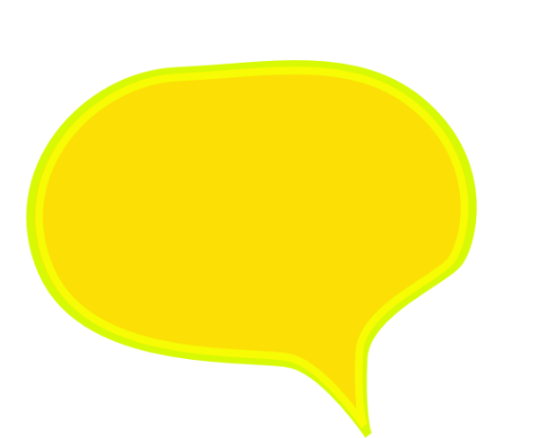 png transparent library Speech bubble png with. Bubbles clipart yellow