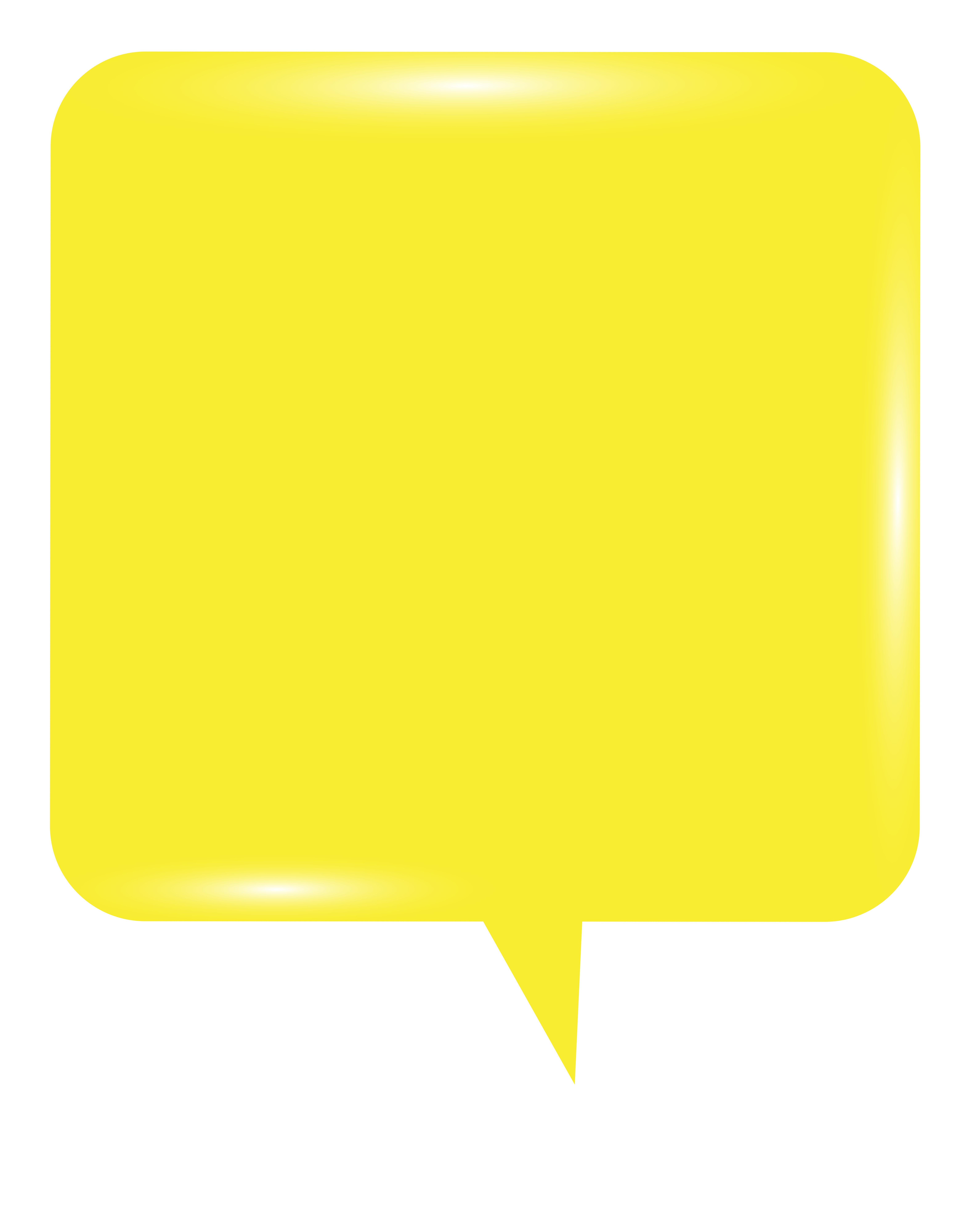 clipart free Bubbles clipart yellow. Bubble speech png clip