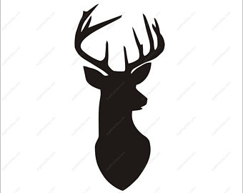 royalty free library Deer etsy . Buck clipart.