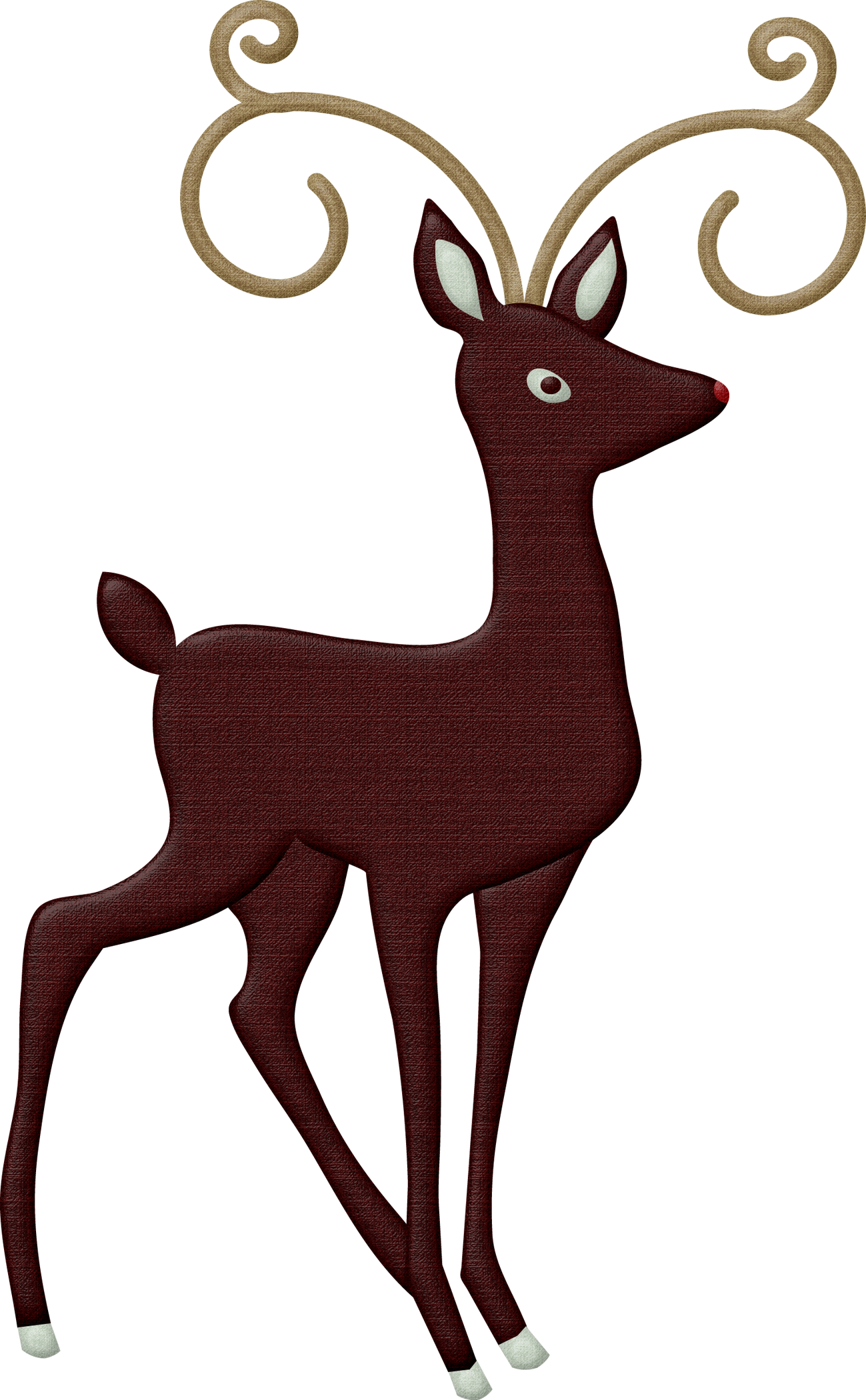 png black and white Brown deer free on. Buck clipart face
