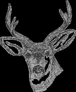 clip art download Buck clipart whitetail deer. Clip art at clker.