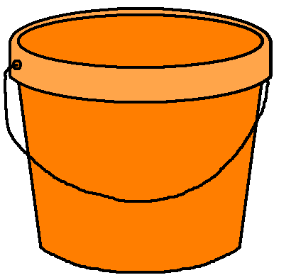 banner Bucket clipart. Transparent background free on.