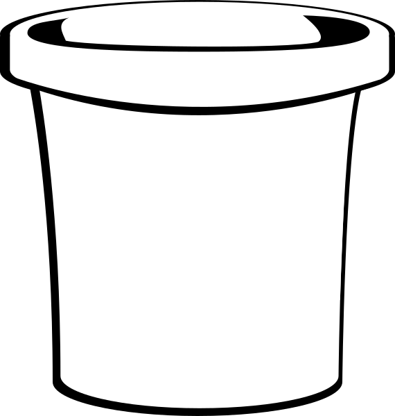picture library White Bucket Clip Art at Clker
