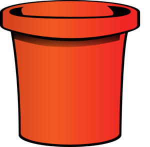 graphic library stock Red . Bucket clipart cartoon