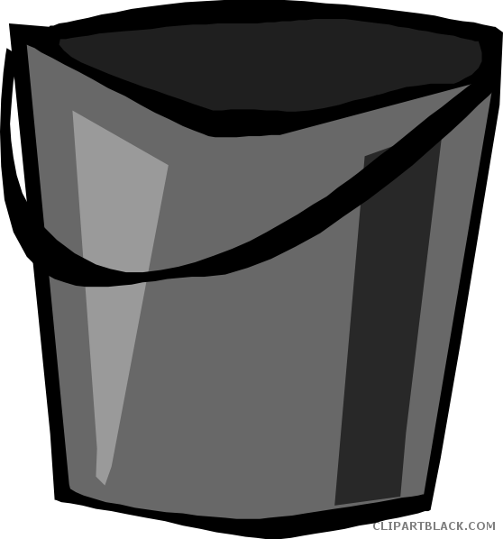 png freeuse library Silver tools free black. Bucket clipart coin