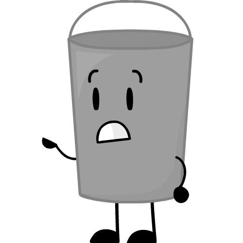 clipart royalty free Image old png lockdown. Bucket clipart different object