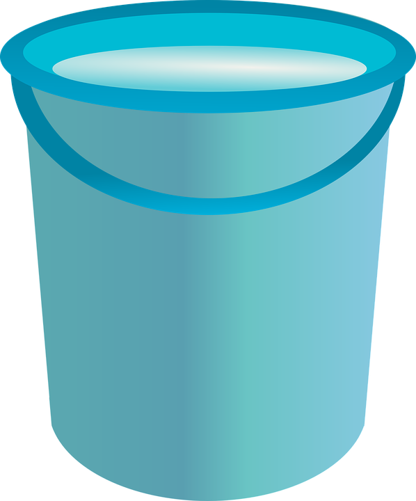 graphic library library Bucket clipart ember. Water container free on.