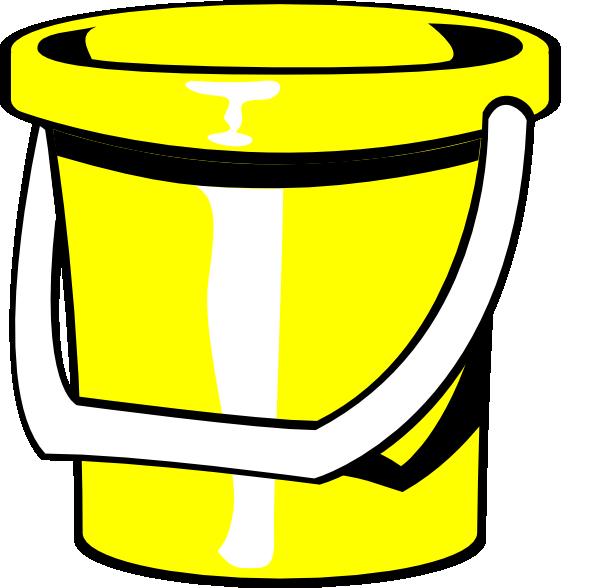 transparent stock Bucket clipart ember. Yellow clip art at.